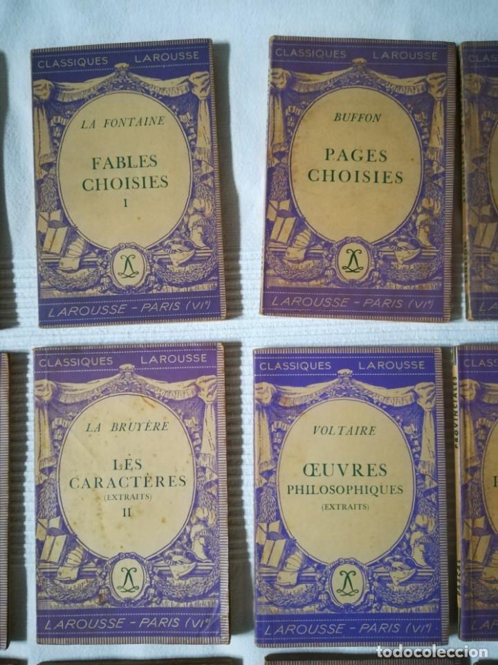 Libros de segunda mano: lote 15 libros Classiques Larousse (en francés) años 50 - Foto 3 - 182462265