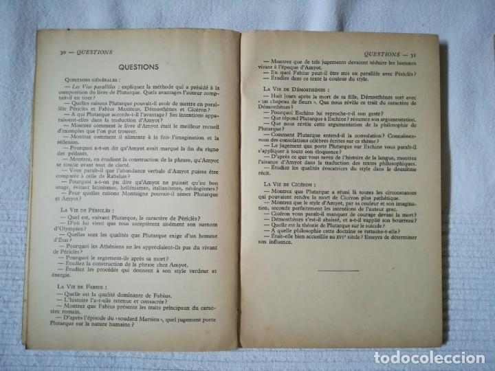 Libros de segunda mano: lote 15 libros Classiques Larousse (en francés) años 50 - Foto 7 - 182462265