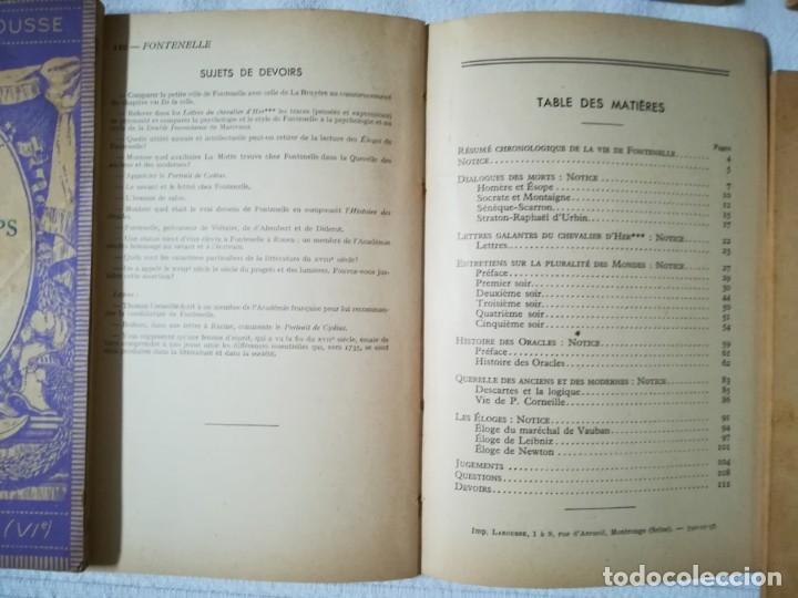 Libros de segunda mano: lote 15 libros Classiques Larousse (en francés) años 50 - Foto 10 - 182462265