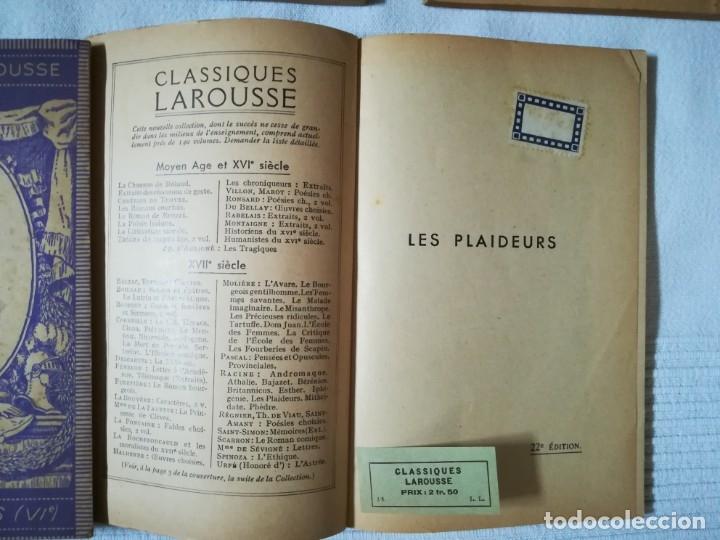 Libros de segunda mano: lote 15 libros Classiques Larousse (en francés) años 50 - Foto 11 - 182462265