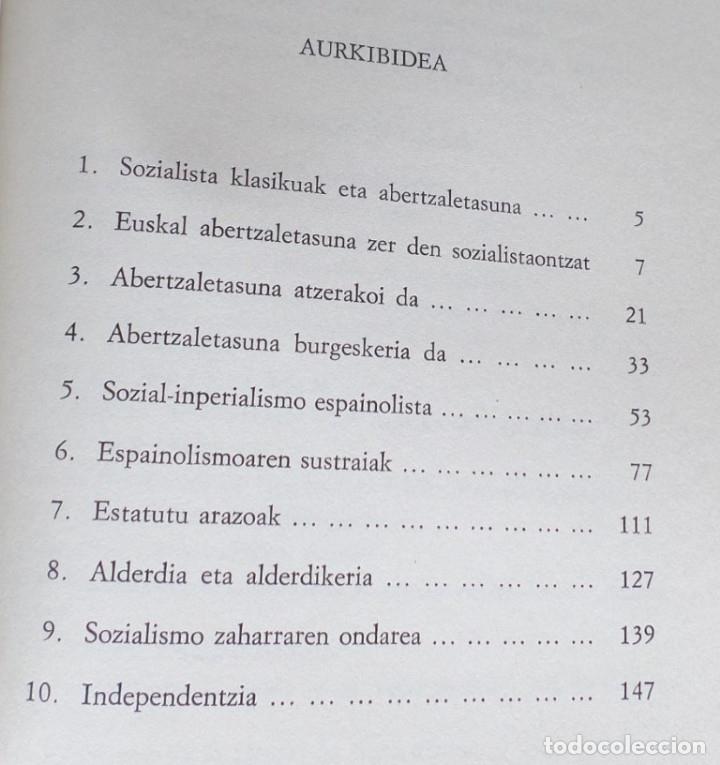 Libros de segunda mano: PSOE eta euskal abertzaletasuna 1894 - 1934 // Joxe Azurmendi - Foto 3 - 182644813
