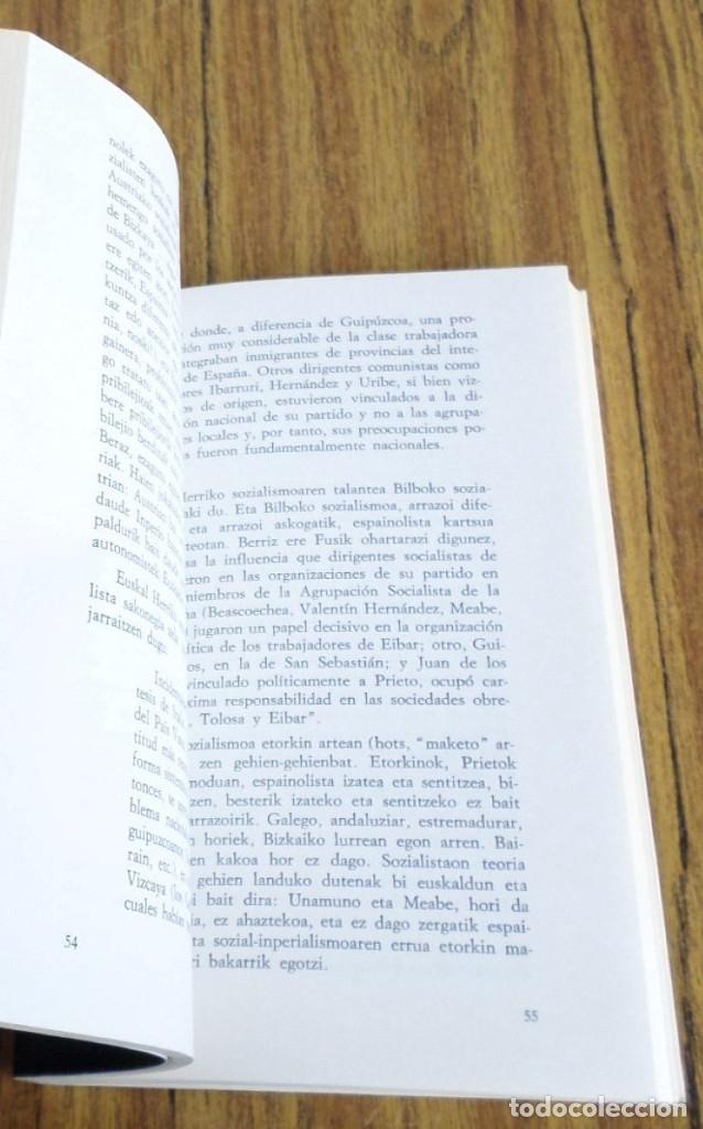 Libros de segunda mano: PSOE eta euskal abertzaletasuna 1894 - 1934 // Joxe Azurmendi - Foto 5 - 182644813
