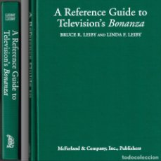 Libros de segunda mano: BONANZA : EL LIBRO MAS COMPLETO ESCRITO JAMAS SOBRE LA SERIE DE TV == 376 PAGINAS = VER FOTOS. Lote 182729835