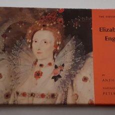 Libros de segunda mano: ELISABET DE INGLATERRA - ELIZABETHAN ENGLAND - EN INGLES - TDK97. Lote 183740603