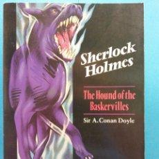 Livros em segunda mão: SHERLOCK HOLMES. THE HOUND OF THE BASKERVILLES. SIR A. CONAN DOYLE. OXFORD BOOKWORMS. Lote 184686738