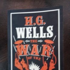 Libros de segunda mano: H.G. WELLS: THE WAR OF THE WORLDS. Lote 184689843