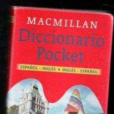 Libros de segunda mano: DICCIONARIO POCKET ESPAÑOL INGLÉS INGLÉS ESPAÑOL. Lote 184900660