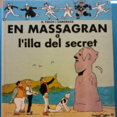 Libros de segunda mano: EN MASSAGRAN A L'ILLA DEL SECRET. R. FOLCH I CAMARASA. EDITORIAL CASALS. Lote 186283993
