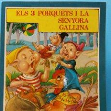 Libros de segunda mano: ELS 3 PORQUETS I LA SENYORA GALLINA. EDITORIAL FHER S.A.. Lote 186284897