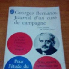Libros de segunda mano: GEORGES BERNANOS. JOURNAL D´UN CURÉ DE CAMPAGNE. EST13B1. Lote 186337482