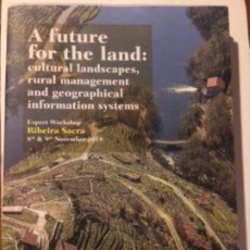 Libros de segunda mano: A FUTURE FOR THE LAND: CULTURAL LANDSCAPES, RURAL MANAGEMENT AND GEOGRAPHICAL INFORMATION SYSTEMS.. Lote 186440292