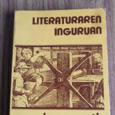 Libros de segunda mano: LITERATURAREN INGURUAN - SAIAERA - J. SAN MARTIN - ED., HORDAGO . Lote 187530930