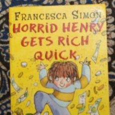 Libros de segunda mano: LOTE 2 HORRID HENRY FRANCESCA SIMON. Lote 188836612