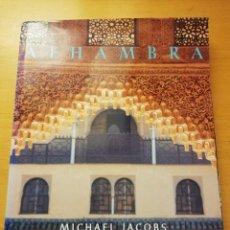 Libros de segunda mano: ALHAMBRA (MICHAEL JACOBS) PHOTOGRAPHS FRANCISCO FERNÁNDEZ. Lote 189415836