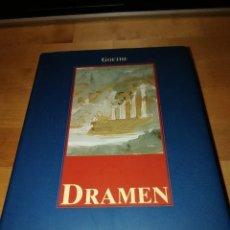 Libros de segunda mano: JOHANN WOLFGANG VON GOETHE - DRAMEN - KÖNEMANN 1997 - ORIGINAL EN ALEMÁN. Lote 189720648