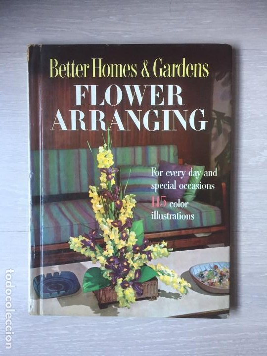 FLOWER ARRANGING. AÑO 1957, ARREGLOS FLORALES (Libros de Segunda Mano - Otros Idiomas)