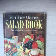 Libros de segunda mano: BETTER HOMES & GARDENS SALAD BOOK 350 RECIPES. AÑO 1958. Lote 190017928