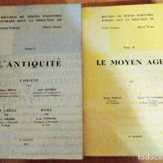 Libros de segunda mano: L´ANTIQUITÉ ET LE MOYEN AGE. LOUIS GOTHIER ET ALBERT TROUX. 1964. RECUEILS DE TEXTES D´HISTOIRE. Lote 190144435
