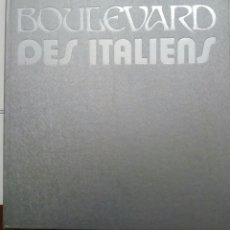 Libros de segunda mano: LIBRO LIVRE BOULEVARD DES ITALIENS. PARIS 1975 EDITED DRAEGER IN FRANCE. CREDIT LYONNAIS. Lote 190047515