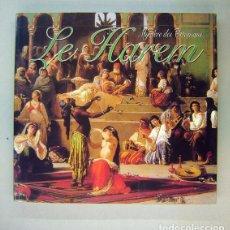 Libros de segunda mano: EL HARÉN. MYSTÈRE DES OTTOMANS. LE HAREM. ILHAN AKSIT- ISTAMBUL, 2000. Lote 190783753