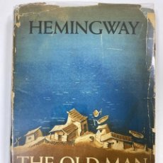 Libros de segunda mano: THE OLD MAN AND THE SEA. ERNEST HEMINGWAY. NEW YORK, 1952. 1ª EDICION,IMPRESION Y TIRADA. LETRA A. . Lote 190906353