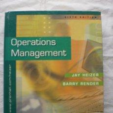 Libros de segunda mano: OPERATIONS MANAGEMENT. Lote 191327037