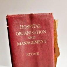 Libros de segunda mano: ORGANIZACIÓN Y GESTIÓN HOSPITALARIA STONE FABER AND FABER - 25 X 16 X 8.CM. Lote 191727870