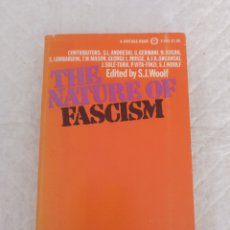 Libros de segunda mano: THE NATURE OF FASCISM. EDITED BY S J WOOLF. HISTORY & POLITICAL SCIENCE V-545. Lote 191909121