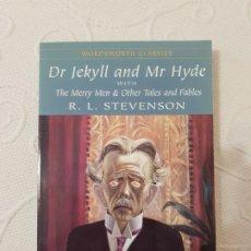 Libros de segunda mano: DR. JEKYLL AND MR. HYDE, R. L. STEVENSON, EN INGLÉS, WORDSWORTH CLASSICS, SELECTED STORIES, 1999. Lote 191972970