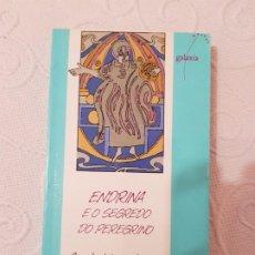 Libros de segunda mano: ENDRINA E O SEGREDO DO PEREGRINO, CONCHA LÓPEZ NARVÁEZ, NOVELA INFANTIL Y JUVENIL, GALAXIA, 1993. Lote 192028582
