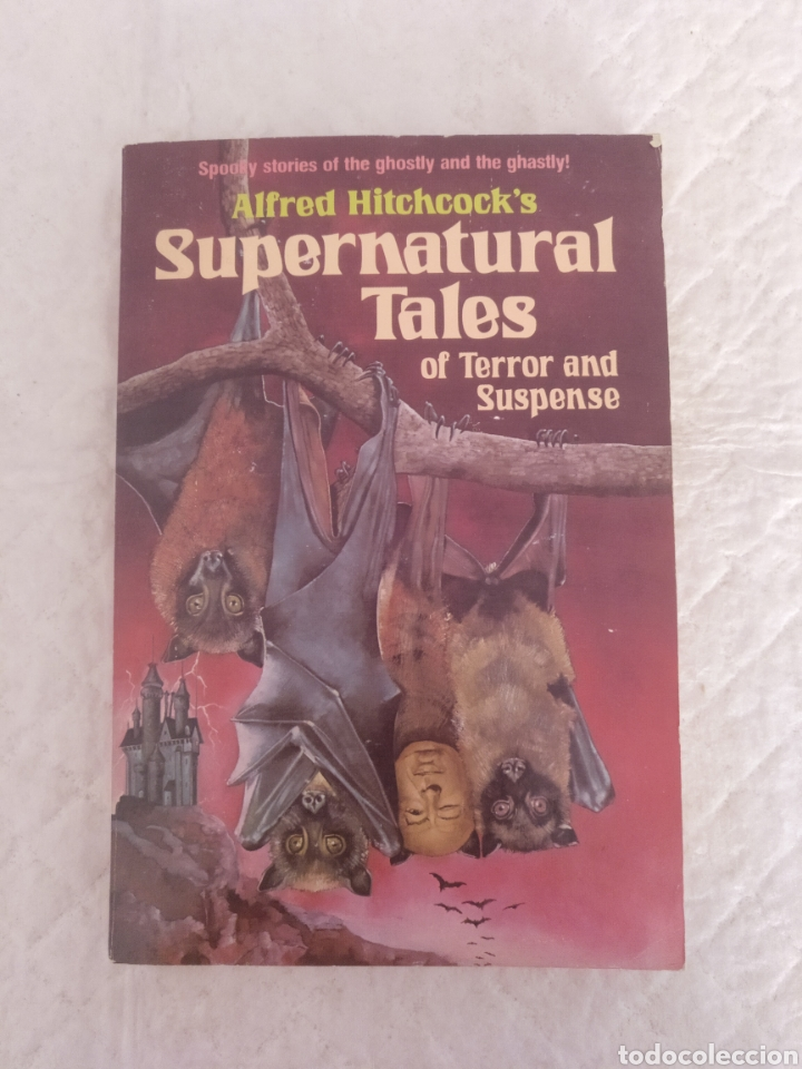 SUPERNATURAL TALES OF TERROR AND SUSPENSE. ALFRED HITCHCOCK'S. RANDOM HOUSE. LIBRO (Libros de Segunda Mano - Otros Idiomas)