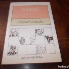 Libros de segunda mano: COUSAS, ALFONSO R. CASTELAO. GALAXIA NARRATIVA 16ª ED. 1.996, EN GALLEGO. Lote 194221907