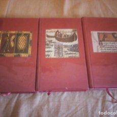 Libros de segunda mano: LE ROMAN DE RENART,LA VIE LEGENDAIRE D´ALEXANDRE LE GRAND,LA LEGENDE DE GUILLAUME D´ORANGE,1962. Lote 194245898