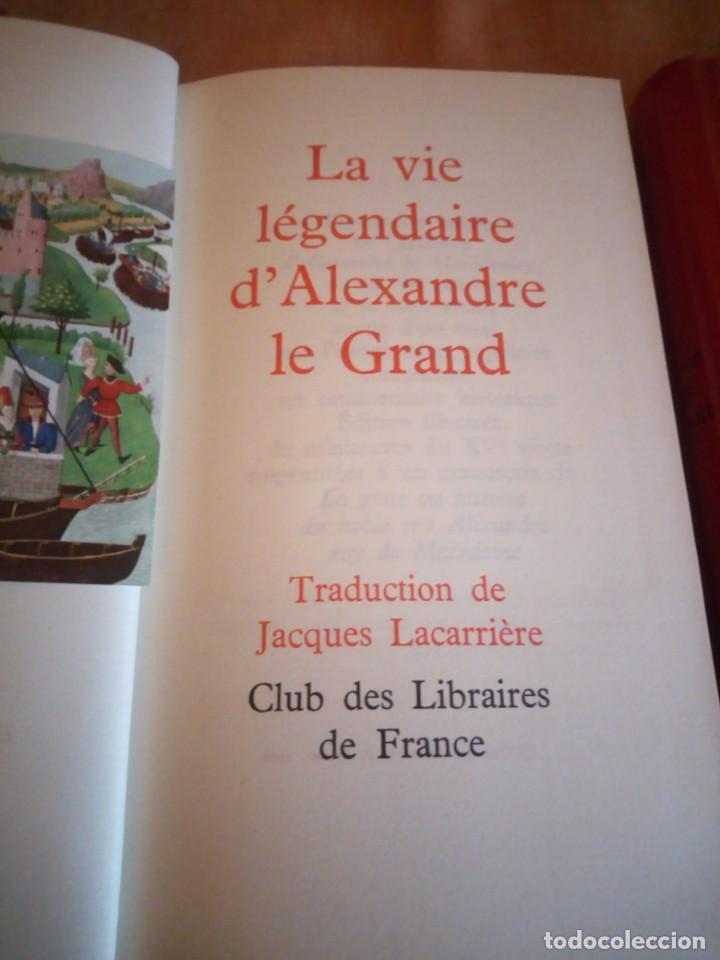 Libros de segunda mano: le roman de renart,la vie legendaire d´alexandre le grand,la legende de guillaume d´orange,1962 - Foto 13 - 194245898
