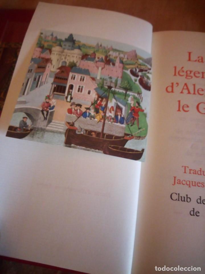 Libros de segunda mano: le roman de renart,la vie legendaire d´alexandre le grand,la legende de guillaume d´orange,1962 - Foto 14 - 194245898