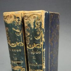 Libros de segunda mano: LIBROS ANTIGUOS EN FRANCES VICTOR HUGO TORQUEMADA. Lote 194283323