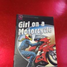 Libros de segunda mano: LIBRO+CD-LIBRO-GIRL ON A MOTORCICLE-OXFORD UNIVERSITY PRESS-JOHN ESCOTT-CD-INGLÉS-VER FOTOS. Lote 194624757
