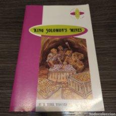 Libros de segunda mano: KING SOLOMON MINES H RIDER HAGGARD BURLINGTON. Lote 194684780