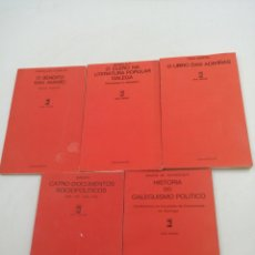 Libros de segunda mano: LIBRETOS GALLEGO AREALONGUIÑA. CATRO DOCUMENTOS SOCIOPOLÍTICOS, HISTORIA DO GALEGUISMO POLÍTICO. Lote 194685398
