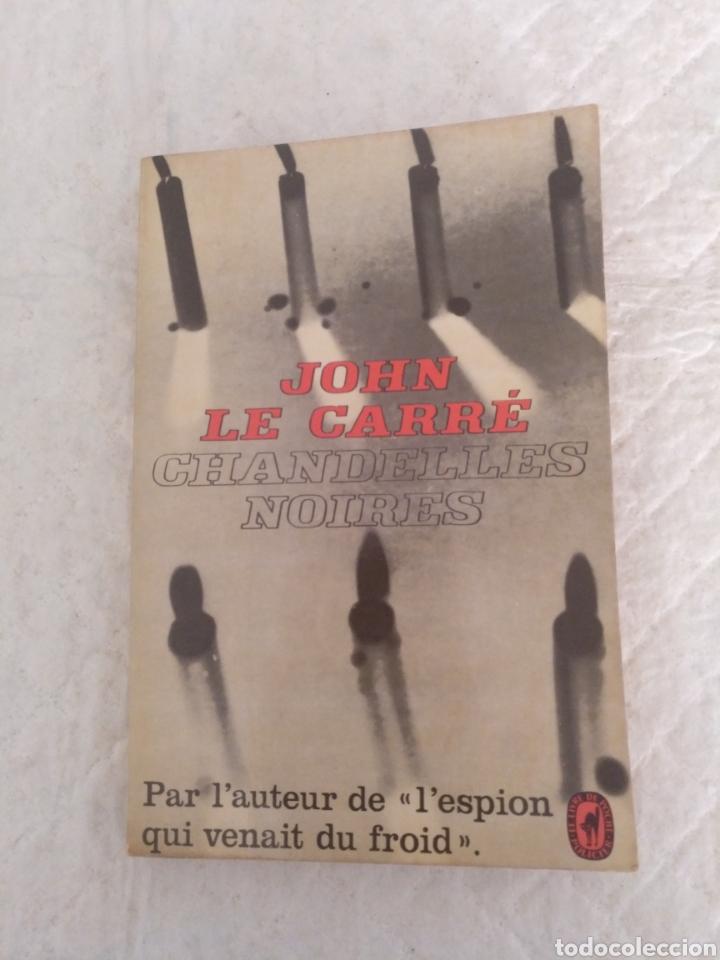 CHANDELLES NOIRES. JOHN LE CARRÉ. LE LIVRE DE POCHE POLICIER. EDITIONS GALLIMARD, 1966. LIBRO (Libros de Segunda Mano - Otros Idiomas)