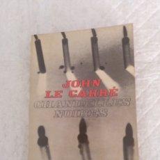 Libros de segunda mano: CHANDELLES NOIRES. JOHN LE CARRÉ. LE LIVRE DE POCHE POLICIER. EDITIONS GALLIMARD, 1966. LIBRO. Lote 194876622