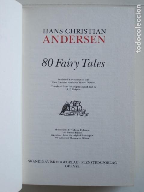 Libros de segunda mano: HANS CHRISTIAN ANDERSEN. 80 FAIRY TALES. ILLUSTRATIONS BY VILHELM PEDERSEN AND LORENZ FROLICH. 1976. - Foto 10 - 194879965