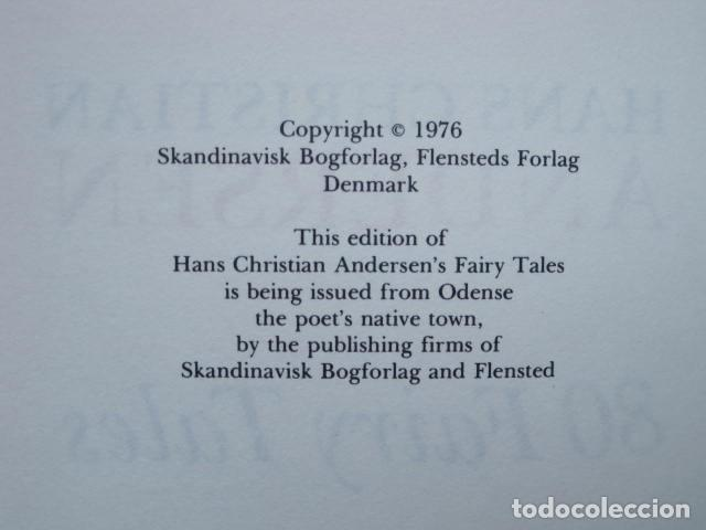 Libros de segunda mano: HANS CHRISTIAN ANDERSEN. 80 FAIRY TALES. ILLUSTRATIONS BY VILHELM PEDERSEN AND LORENZ FROLICH. 1976. - Foto 11 - 194879965