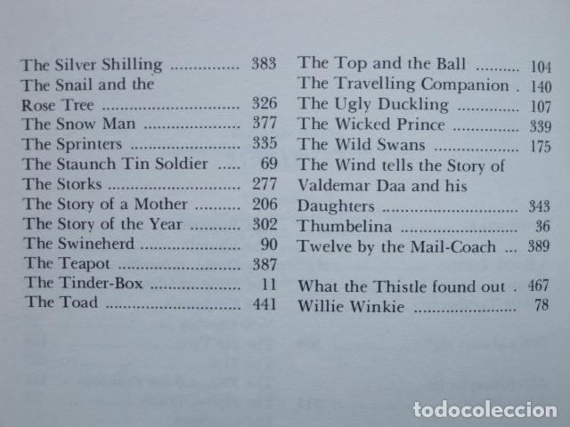 Libros de segunda mano: HANS CHRISTIAN ANDERSEN. 80 FAIRY TALES. ILLUSTRATIONS BY VILHELM PEDERSEN AND LORENZ FROLICH. 1976. - Foto 13 - 194879965