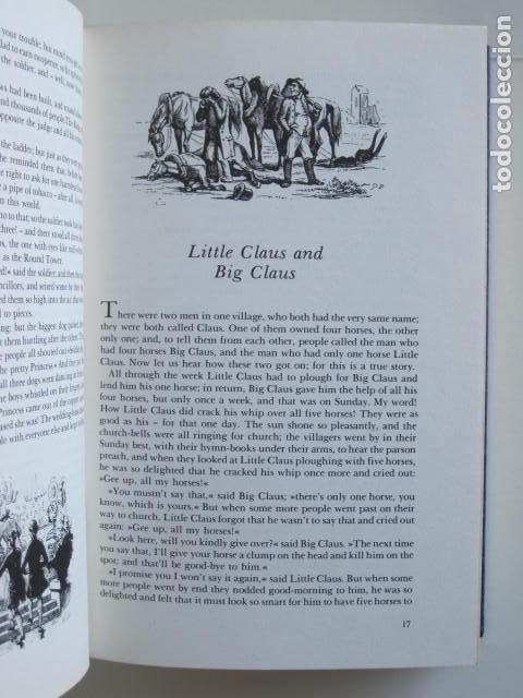 Libros de segunda mano: HANS CHRISTIAN ANDERSEN. 80 FAIRY TALES. ILLUSTRATIONS BY VILHELM PEDERSEN AND LORENZ FROLICH. 1976. - Foto 14 - 194879965