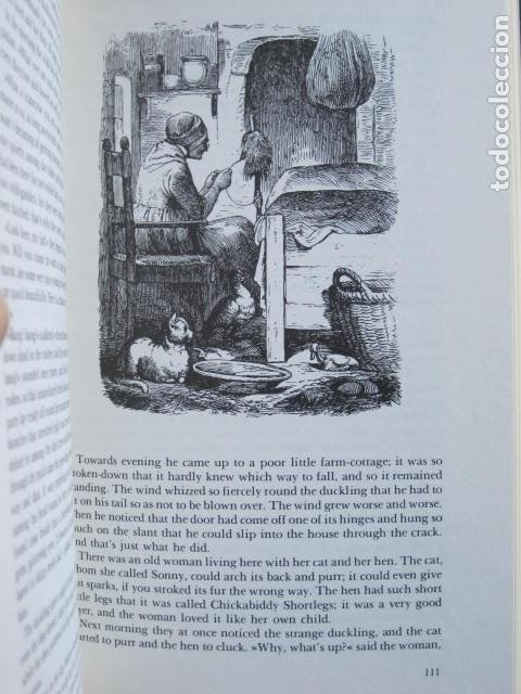 Libros de segunda mano: HANS CHRISTIAN ANDERSEN. 80 FAIRY TALES. ILLUSTRATIONS BY VILHELM PEDERSEN AND LORENZ FROLICH. 1976. - Foto 15 - 194879965