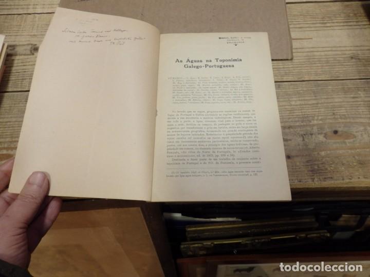Libros de segunda mano: AS AGUAS NA TOPONIMIA GALEGO-PORTUGUESA, JOSEPH M. PIEL, 1948, - Foto 2 - 194885323