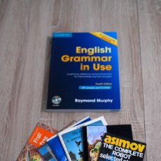 Libros de segunda mano: ENGLISH GRAMMAR IN USE + CD + GRAMMAR WORDS (+6 LIBROS DE REGALO) - ESTUDIO, GRAMÁTICA, VOCABULARIO. Lote 194954010