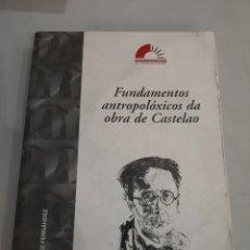 Libros de segunda mano: GALICIA 1999 FUNDAMENTOS ANTROPOLÓGICOS DA OBRA CASTELAO ANXO GONZÁLEZ FERNÁNDEZ. Lote 194999462