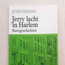 Libros de segunda mano: JERRY LACHT IN HARLEM. KURZGESCHICHTEN. (EASY READERS, LEVEL B) - REDING, JOSEF. Lote 195178588
